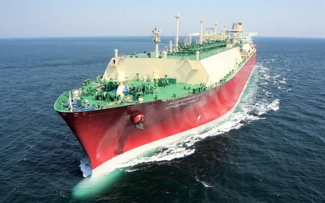 الصورة من بيان شركة قطر لنقل الغاز المحدودة