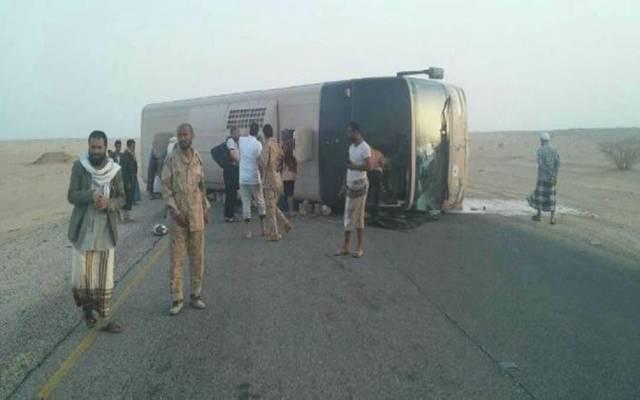 التحالف:إحالة تعرض حافلة ركاب باليمن لأضرار بإحدى العمليات لفريق تحقيق
