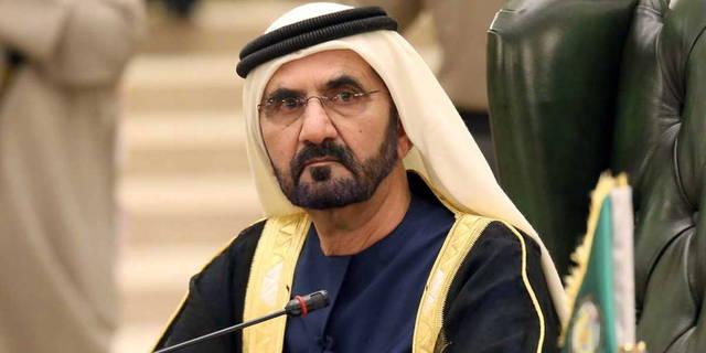 الشيخ محمد بن راشد آل مكتوم نائب رئيس الدولة رئيس مجلس الوزراء الإماراتي