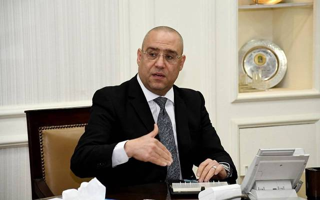 The Egyptian Housing Minister, Assem El-Gazzar