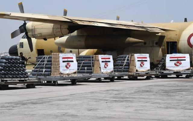 صورة للطائرات العسكرية المصرية
