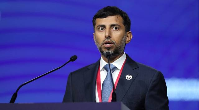 UAE Minister of Energy and Industry, Suhail Al Mazrouei