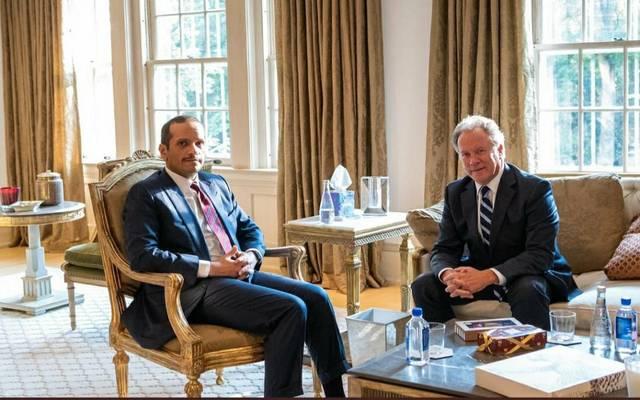 نائب رئيس الوزراء القطري يجتمع مع المدير التنفيذي لبرنامج الأغذية العالمي