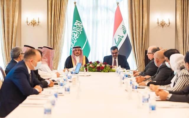 محافظ البنك المركزي العراقي يستقبل نظيره السعودي في بغداد