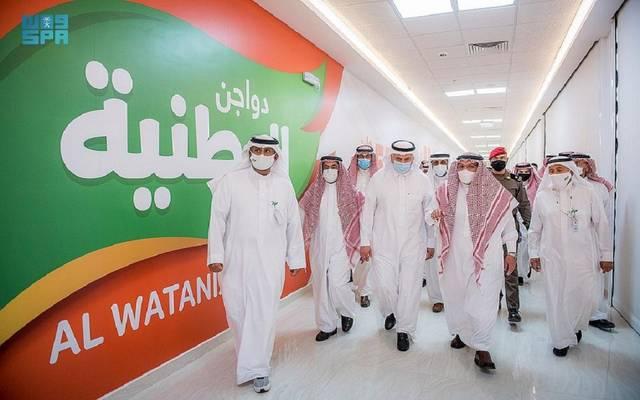 """أمير """"القصيم"""" السعودية يدشن عدداً من المشاريع بشركة دواجن الوطنية"""