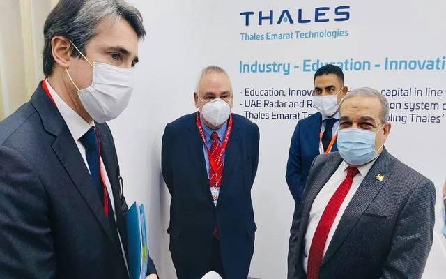 """الوزير """"مرسي"""" يلتقي أكثر من 8 شركات عالمية لبحث التعاون المشترك"""