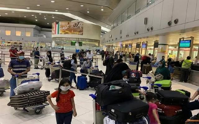 """""""الطيران المدني"""" الكويتية: 745 عالقاً مصرياً يغادرون إلى القاهرة وسوهاج.. السبت"""