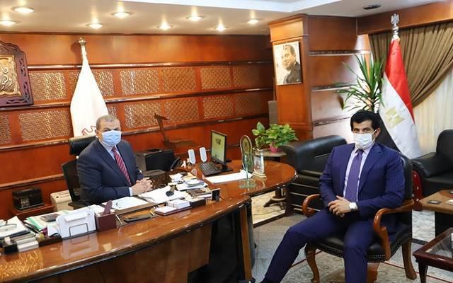 سعفان يبحث مع سفير قطر الارتقاء بالعلاقات الثنائية