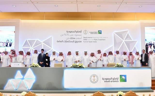 """محللون: فوائد بالجملة للاقتصاد السعودي من صفقة """"أرامكو – سابك"""""""