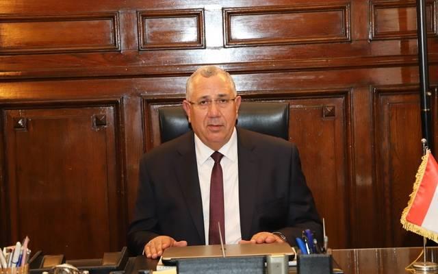 وزير الزراعة واستصلاح الأراضى المصري السيد القصير - أرشيفية
