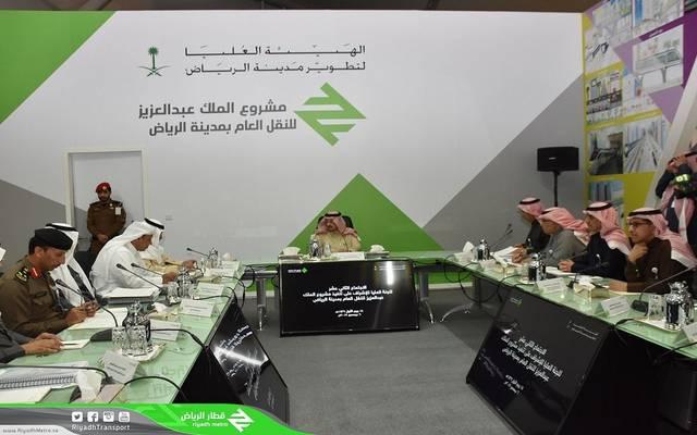 بالصور.. السعودية تنجز 66% من مشروع قطار الرياض