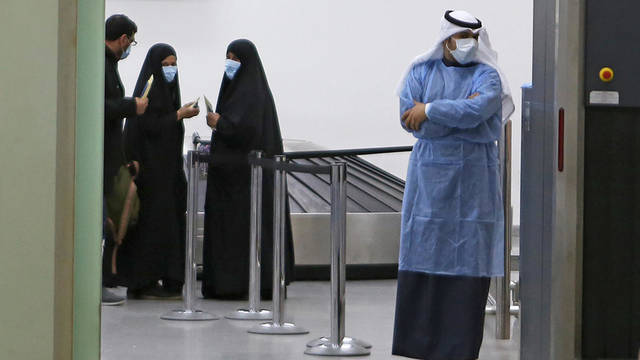 The total number of cases in Kuwait reached 37,533