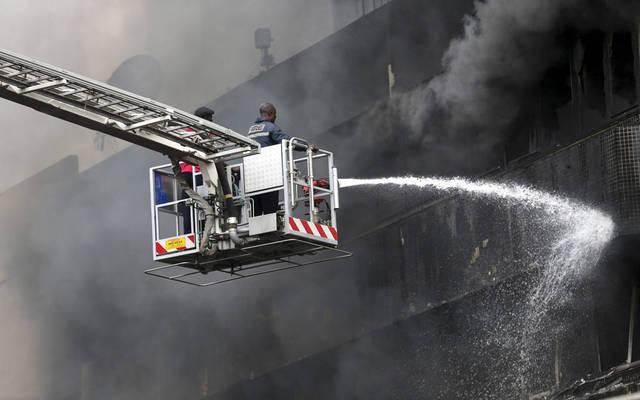 التأمين ضد أخطار الحرائق أحد أنشطة الشركة