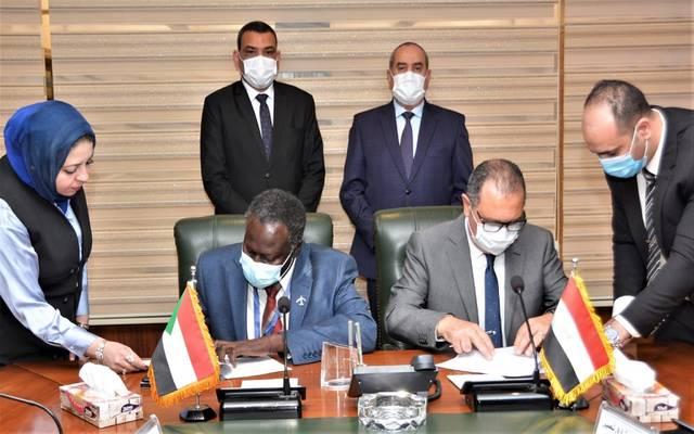توقيع مذكرة تفاهم بين مصر للطيران و الخطوط الجوية السودانية