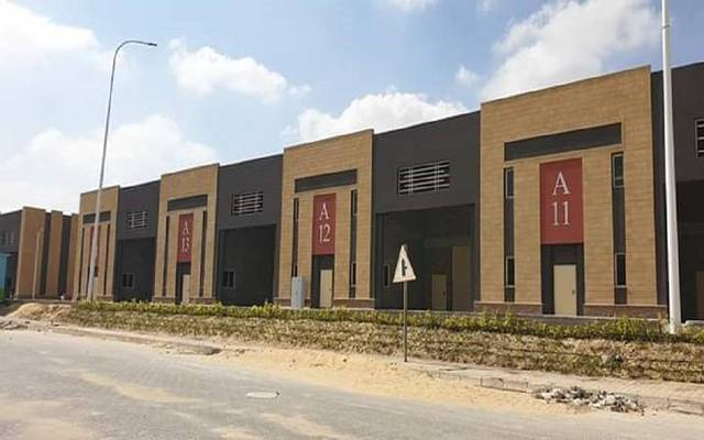 The first phase includes 56 industrial units
