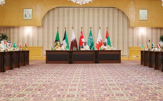 جانب من اجتماع وزراء التجارة والصناعة بمجلس التعاون الخليجي