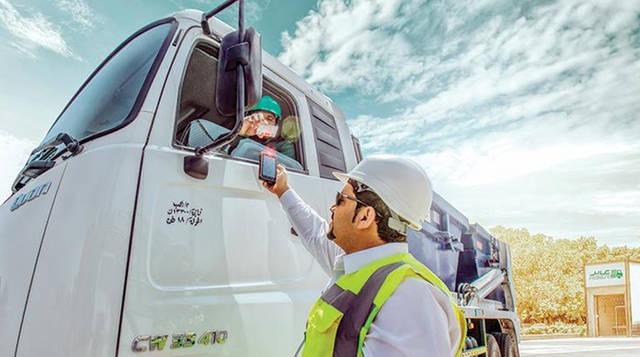 أحد عمال مجمّع دبي الصناعي