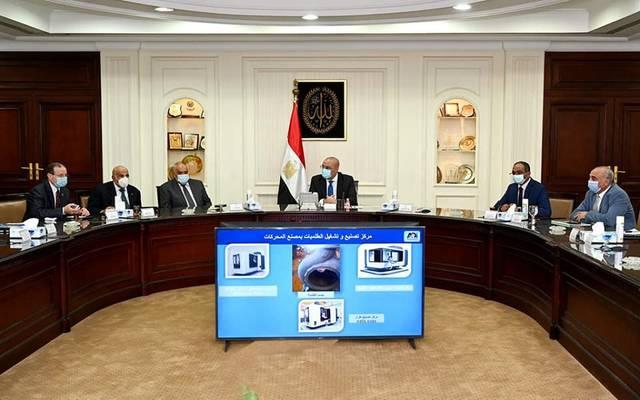 خلال اجتماع عقده وزير الإسكان لمتابعة استعدادات مواجهة التقلبات الجوية
