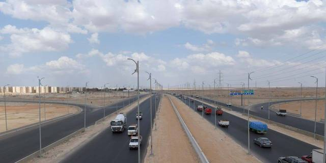 تطوير الطرق والمحاور بمدينة السادس من أكتوبر