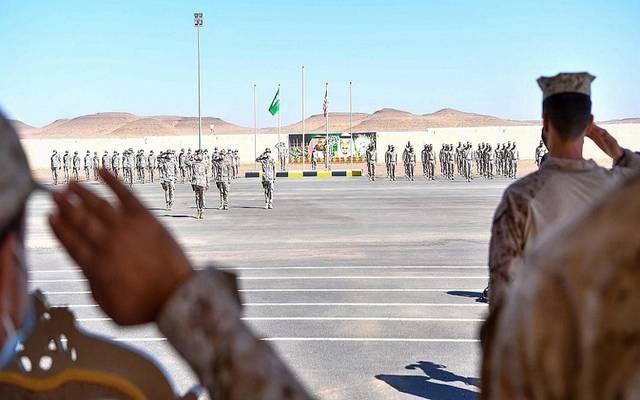 """""""مخالب الصقر 3"""".. انطلاق مناورات تمرين عسكري سعودي أمريكي"""