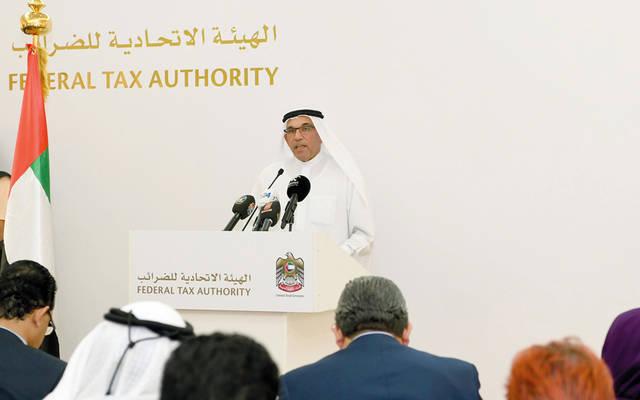 خالد البستاني المدير العام للهيئة الاتحادية للضرائب
