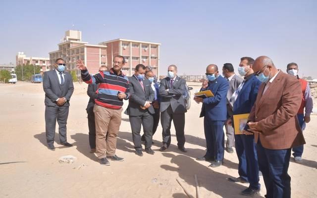 التخطيط المصرية تتابع الموقف التنفيذي لمشروعات جامعة الوادي الجديد