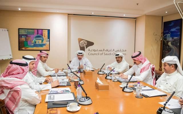 جانب من اجتماع مجلس الأعمال السعودي المصري بتشكيله الجديد