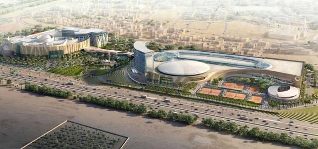 CallisonRTKL said the complex will include the Kuwait Tennis Federation headquarters