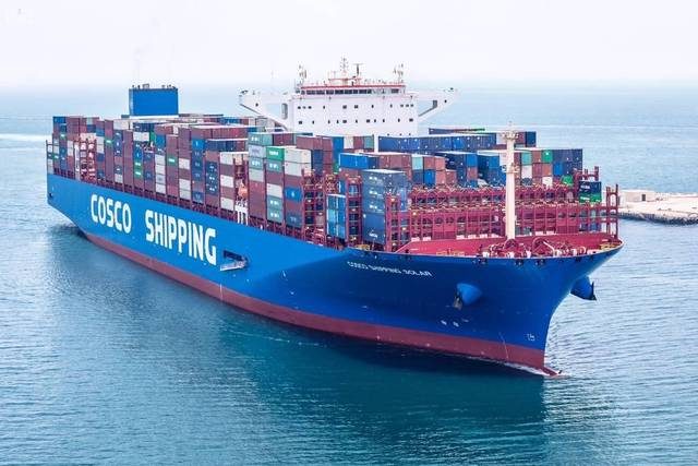 The number of cargoes handled grew to 746,401