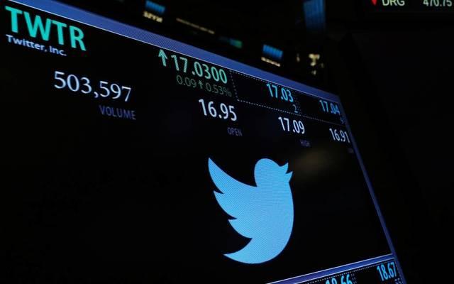 """سهم """"تويتر"""" يقفز 7% عند أعلى مستوى منذ 2015"""