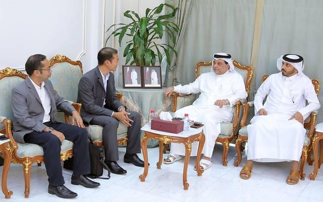 جانب من لقاء غرفة قطر مع الوفد الماليزي