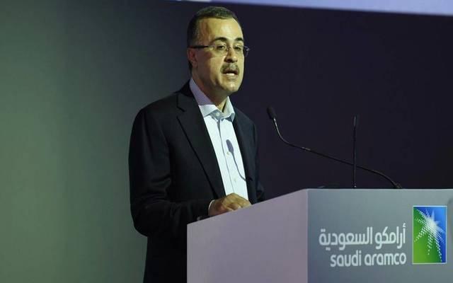 """الرئيس التنفيذي لشركة """"رامكو"""" السعودية أمين الناصر - أرشيفية"""