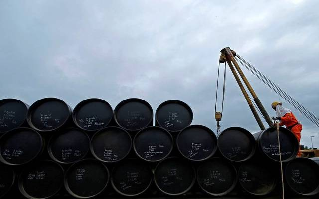 Global oil prices fell to an 18-year low on Monday