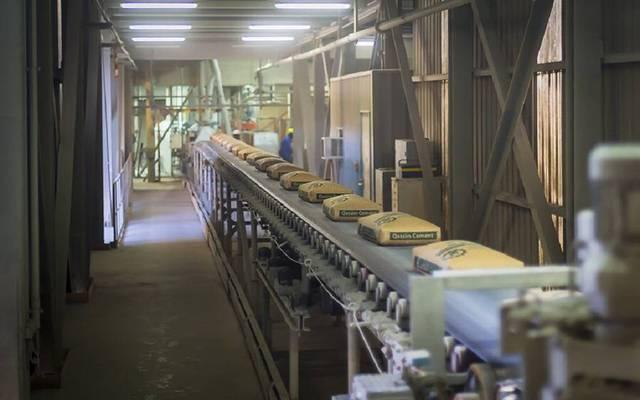 مصنع تابع لشركة أسمنت القصيم