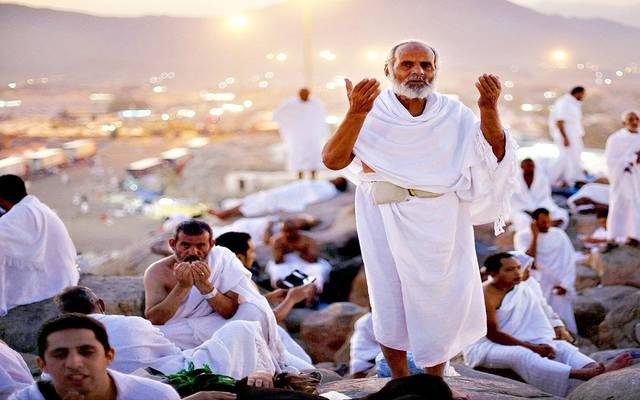 حجاج مصريون في الأراضي المقدسة