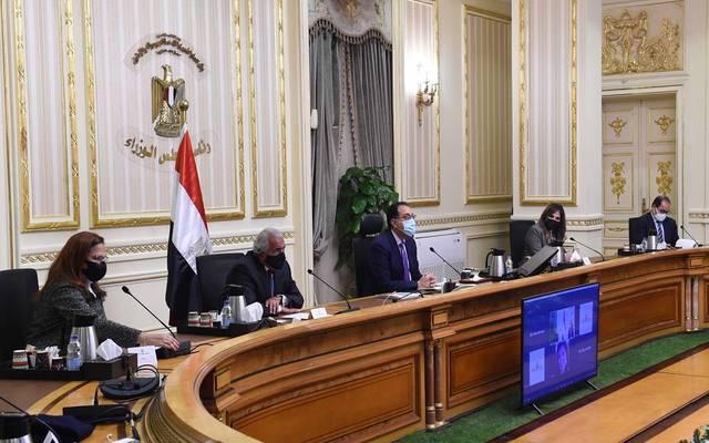"""خلال اللقاء الذي نظمته غرفة التجارة الأمريكية بالقاهرة عبر تقنية """"الفيديو كونفرانس"""""""