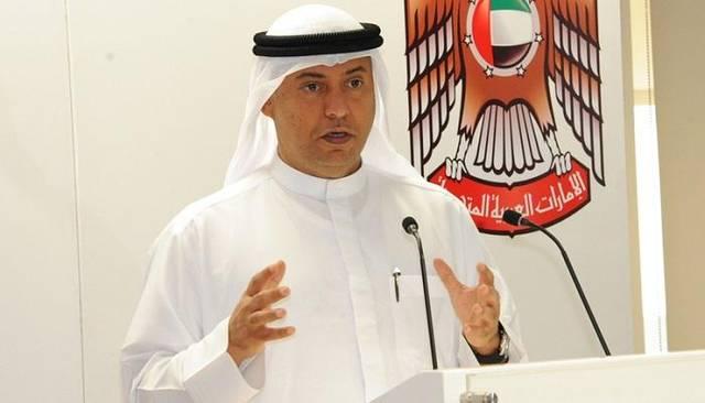 صورة أرشيفية لعبيد سيف حمد الزعابي، الرئيس التنفيذي لهيئة الأوراق المالية والسلع في الإمارات