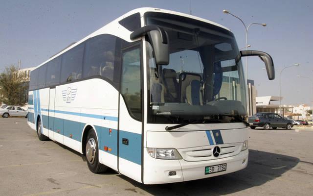 """حافلة تابعة لنقليات السياحة الأردنية """"جت"""" - الصورة من موقع الشركة"""