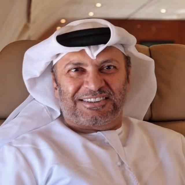 أنور قرقاش وزير الدولة للشؤون الخارجية الإماراتي