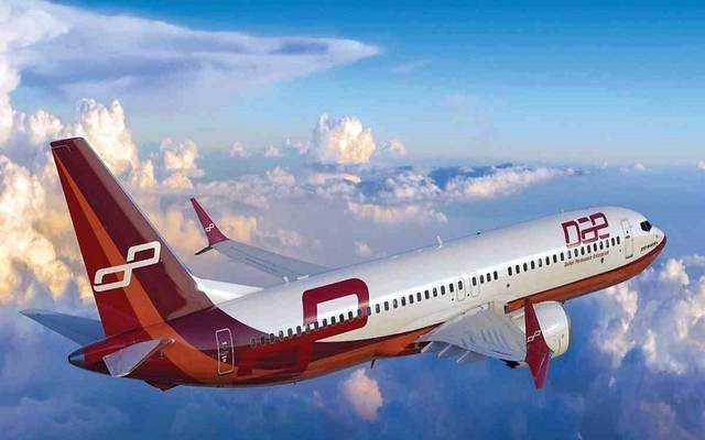 إحدي طائرات شركة دبي لصناعة الطيران