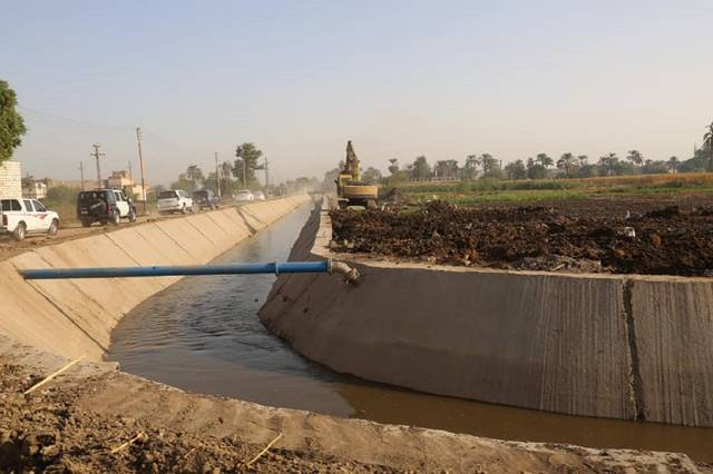 The ministry allocated EGP 18 billion for the rehabilitation of 7,790 km of canals