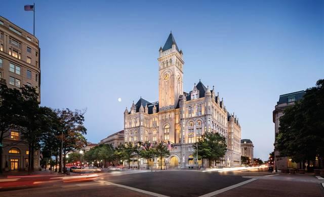 Revenue at Trump's D.C. hotel down 62% in 2020