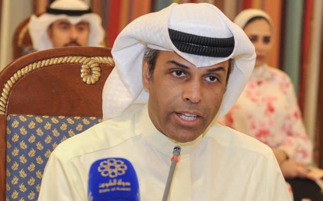 وزير النفط الكويتي ، خالد الفاضل
