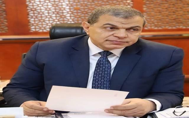وزير القوى العاملة في مصر محمد سعفان