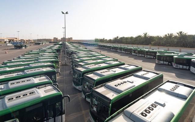مشروع حافلات الرياض ـ أرشيفية