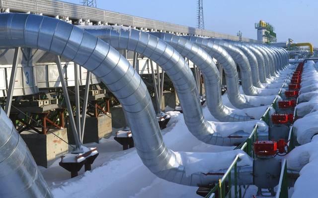 أنابيب نقل الغاز الطبيعي المُسال