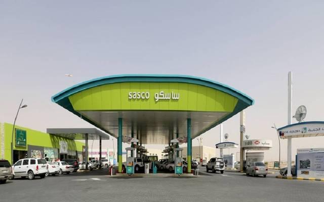 """محطة وقود تابعة للشركة السعودية لخدمات السيارات والمعدات """"ساسكو"""""""