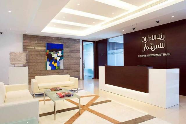 Emirates Investment Bank generated AED 175.730 million revenuesin 2019