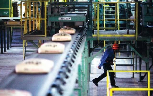 خط إنتاج في أحد المصانع