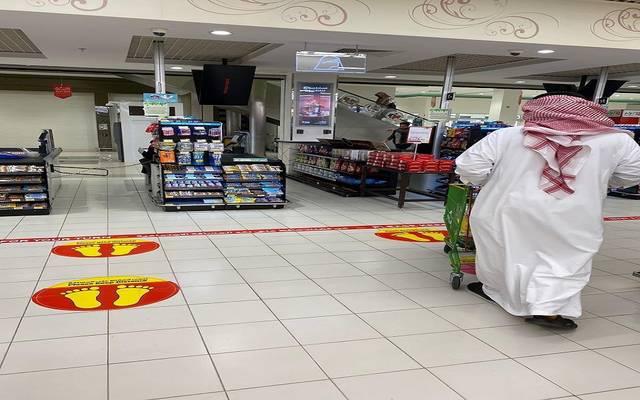 صورة من الإجراءات في مراكز التسوق